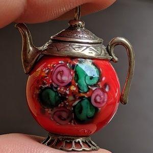 Teapot Charm/Mini Pendant